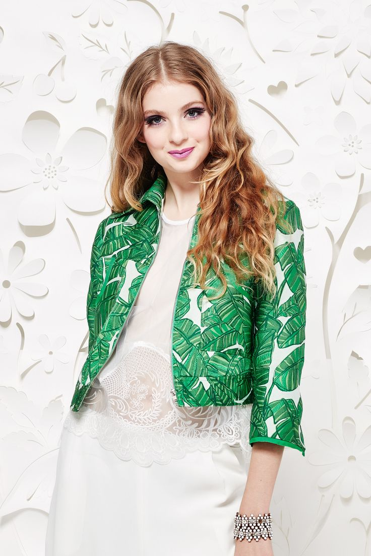 Trelise Cooper Summer16 TC60618-41 Fabric Name & Composition Palms Of Paradise-100% Polyester Jacquard