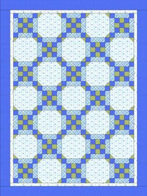Follow These Steps to Make a Beautiful Framed Nine-Patch Baby Quilt: Introduction to the Framed Nine Patch Baby Quilt Pattern