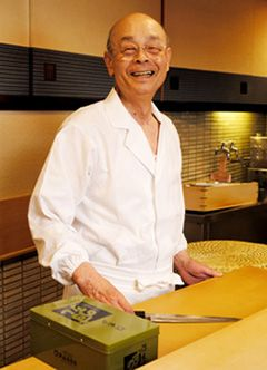 Ono Jiro, famous sushi chef  If only I could go to Japan and eat his food!!
