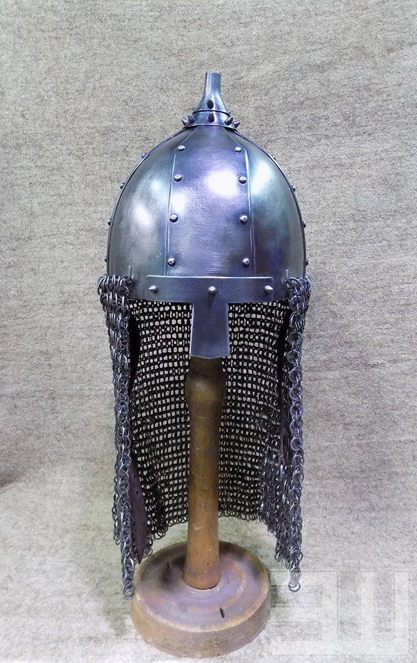 Степные воины из эпохи миграции - 14. Век – 259 photos Reconstruction Khazar Helmet from Kazazovo , Kuban North Caucasus