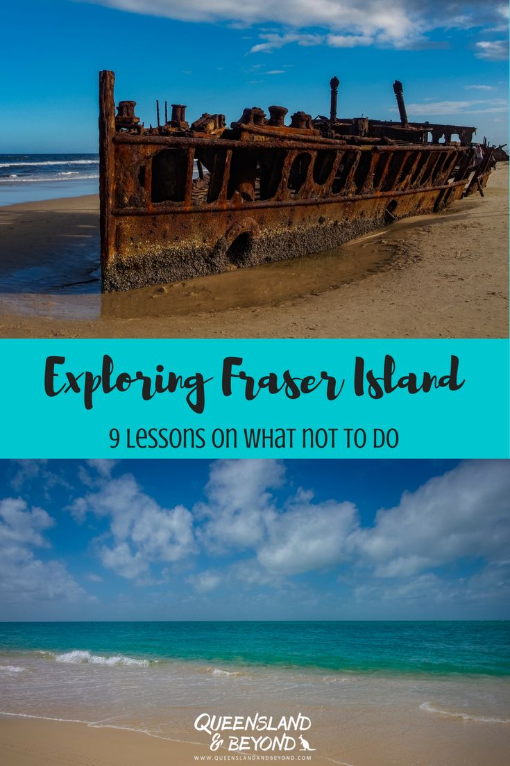 Fraser Island, Australia, is incredibly popular for 4WD-ing and camping so you'd think we'd be prepared for our camping trip. But we weren't. Don't make the same mistakes we did and learn from our silly mistakes! 🌐 Queensland & Beyond #australia #camping #queensland #nationalpark #4WD #fraserisland