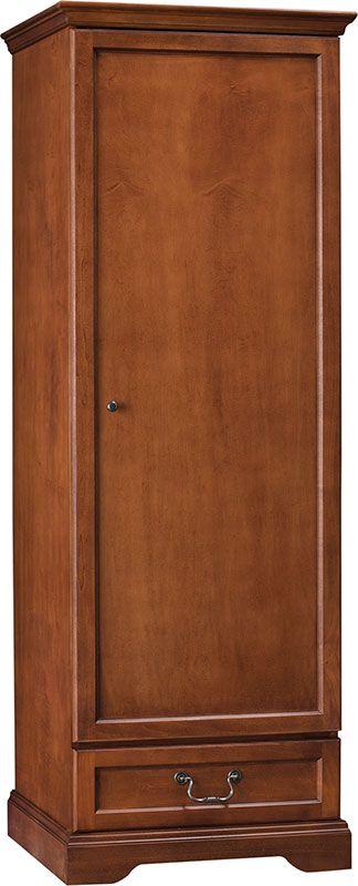 Hawthorne Single Door Wardrobe With Drawer , C1011 by Hekman by Hekman | BizChair.com