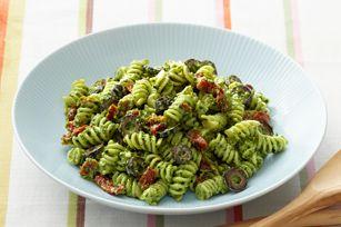Creamy Pesto Pasta Salad recipe