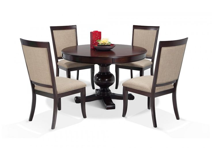 Gatsby Round 5 Piece Dining Set With Side Chairs   Gatsby Round   Dining  Room. 505 best furniture images on Pinterest   Bedroom furniture  Sleigh