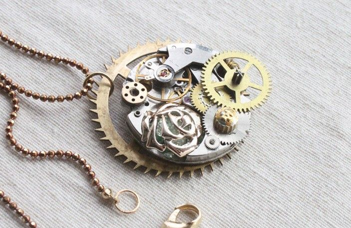17 Best images about Steampunk Accessories Jewelry on ...