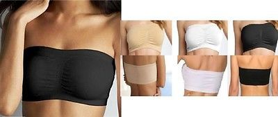 #Women ladies #sports bra bandeau boob tube crop top bras #s-xxl,  View more on the LINK: http://www.zeppy.io/product/gb/2/252033504232/