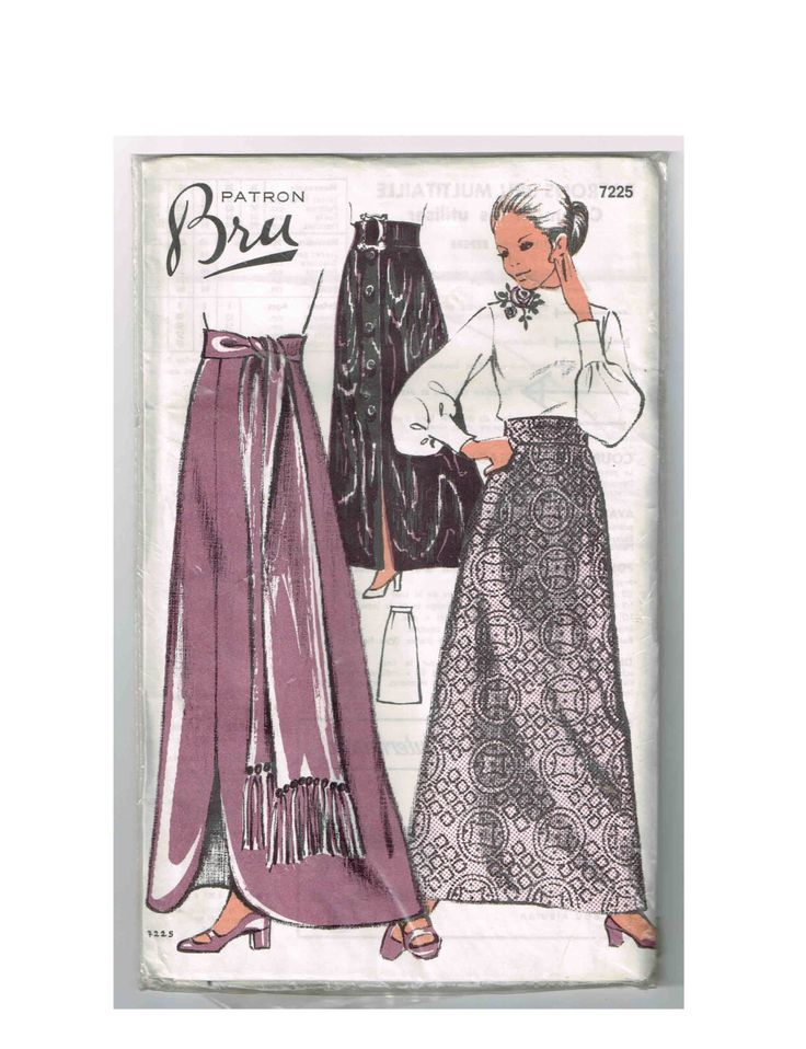 Vintage French Bru #7225 Sewing Pattern by TheShoppingMoll on Etsy