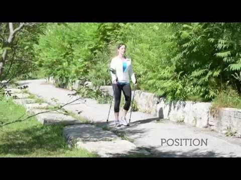 How to Nordic Pole Walk - YouTube