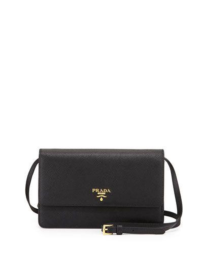 Prada Saffiano Mini Crossbody Bag. This is the perfect balance of ...