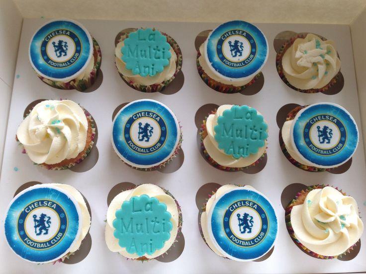 Chelsea cupcakes