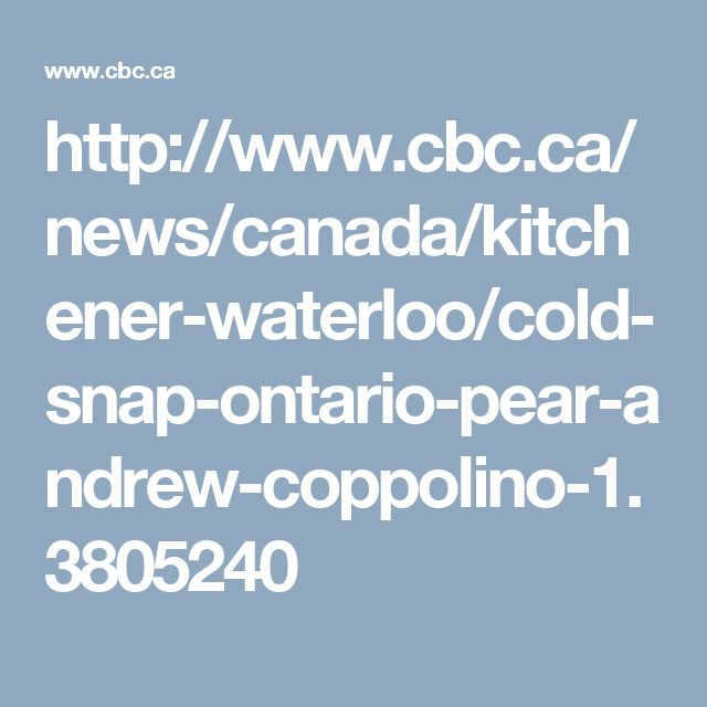 http://www.cbc.ca/news/canada/kitchener-waterloo/cold-snap-ontario-pear-andrew-coppolino-1.3805240