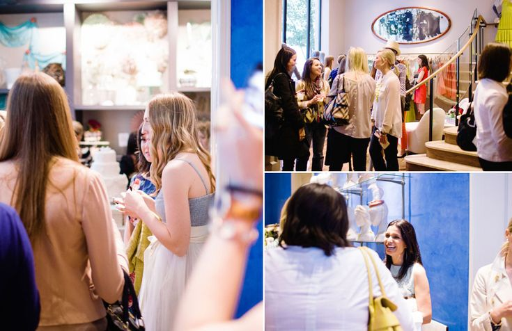 Attendees of The Everygirl Event at BHLDN Chicago