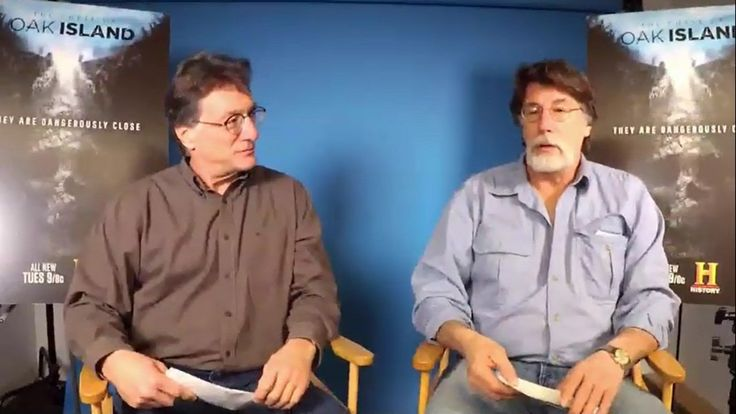 Oak Island ~ Fans Q&A With Rick & Marty Lagina | Feb 2017  Rick's beard looks so soft. I just want to reach out and touch it.