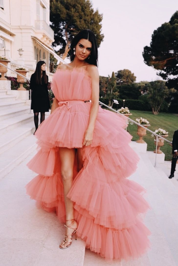 Pink Tulle Rose Dress
