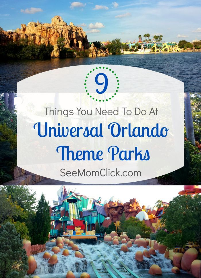 Universal Studios Orlando and Islands of Adventure are perfect family travel destinations. Here are my top 9 things you don't want to miss at Universal Orlando!