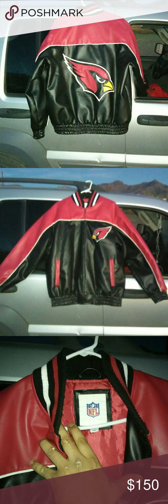 NFL jackets Arizona Cardinals leather and San Francisco 49ers NFL Jackets & Coats
