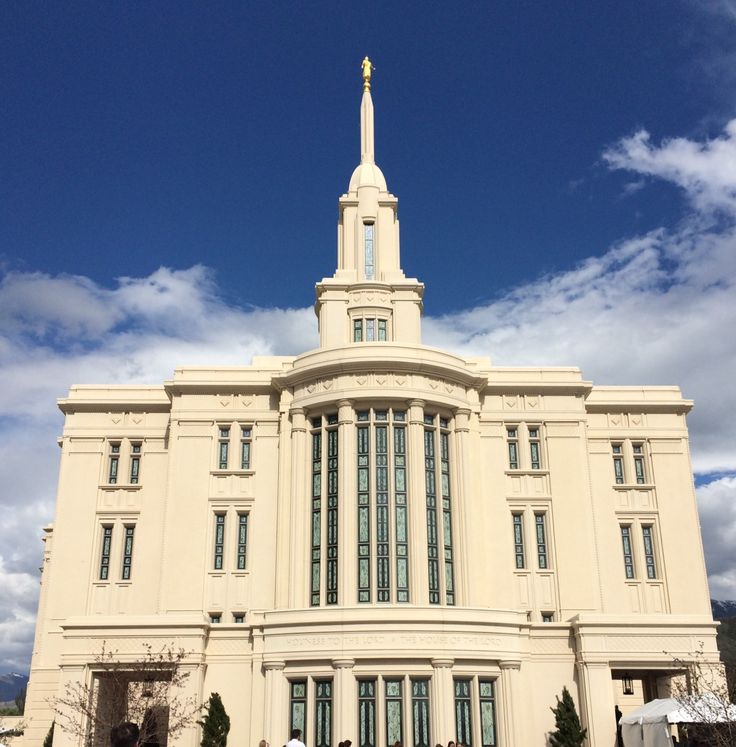 Beautiful Payson Temple Open House May 2015