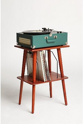 I have this record player.  Now I just need this precious mid-century modern stand.