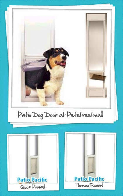 Patio Pet Door Are Perfect For Pet Owners That Does Not Want To Cut Or Have