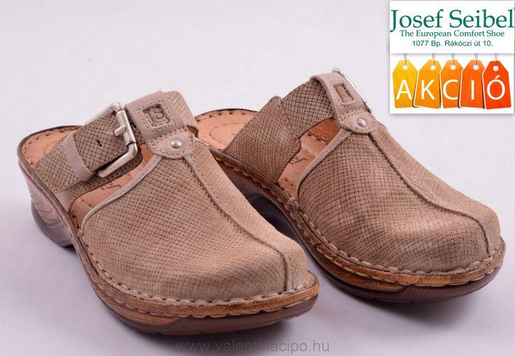 Josef Seibel női klumpa akciós áron vásárolható a Josef Seibel Referencia Szaküzletben vagy rendelhető webáruházunkból!  http://valentinacipo.hu/josef-seibel/noi/bezs/utcai-papucs/142645940  #Josef_seibel #akció #seibel_webshop #klumpa