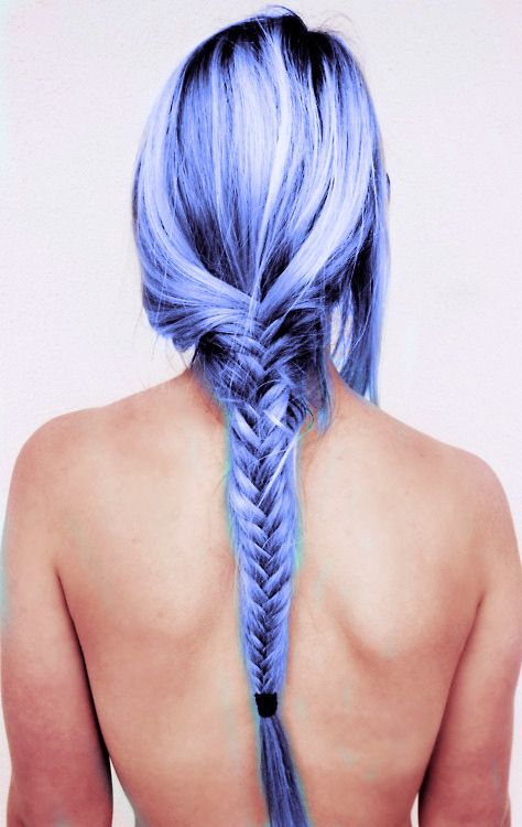 27 Stunning Shades Of Blue Hair photo Callina Marie's photos