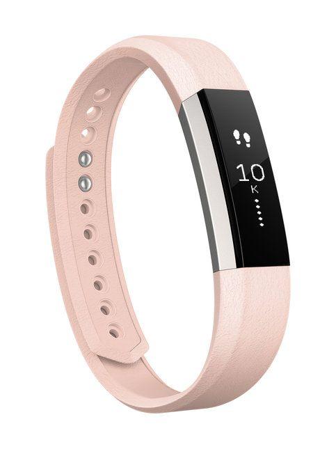 Fitbit Alta-aktiivisuusrannekkeen ylellisella nahkarannekkeella voit tuoda omaa fiilistä tai persoonaa esille vaihtamalla ranneketta vaikka joka päivä.