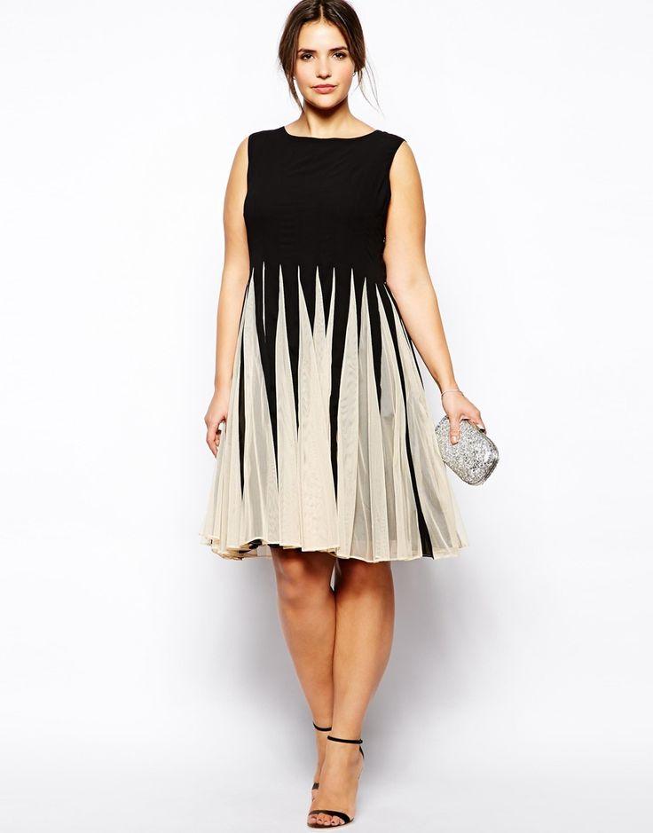 Plus Size Women Chiffon Summer Dress Sleeveless