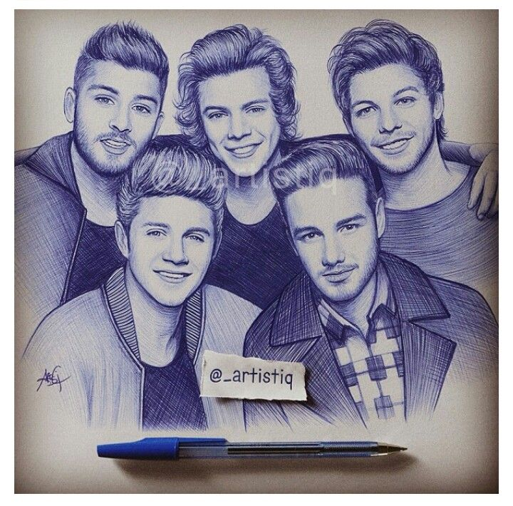 one direction porn drawings