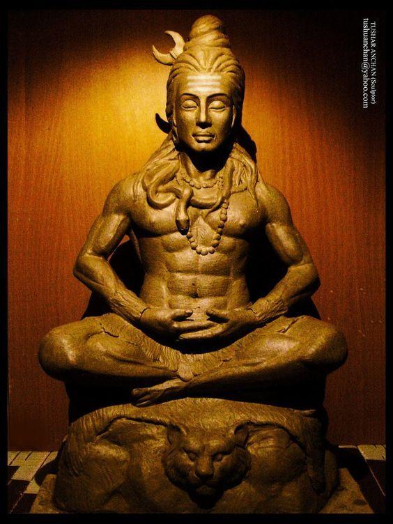 Shiva the destroyer of evils.