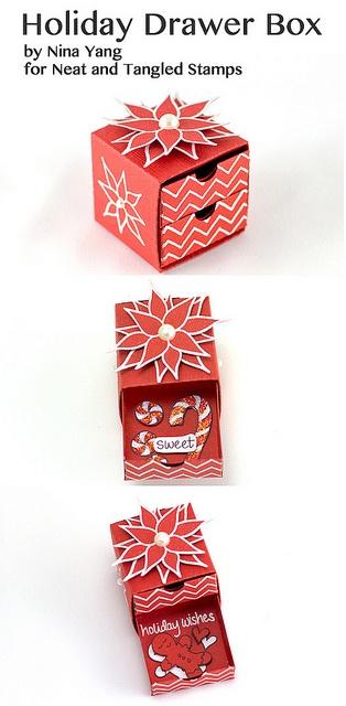Holiday Drawer Box by Nina Yang for Neat and Tangled