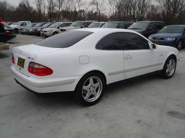 1999 mercedes benz clk 320 coupe white elegance