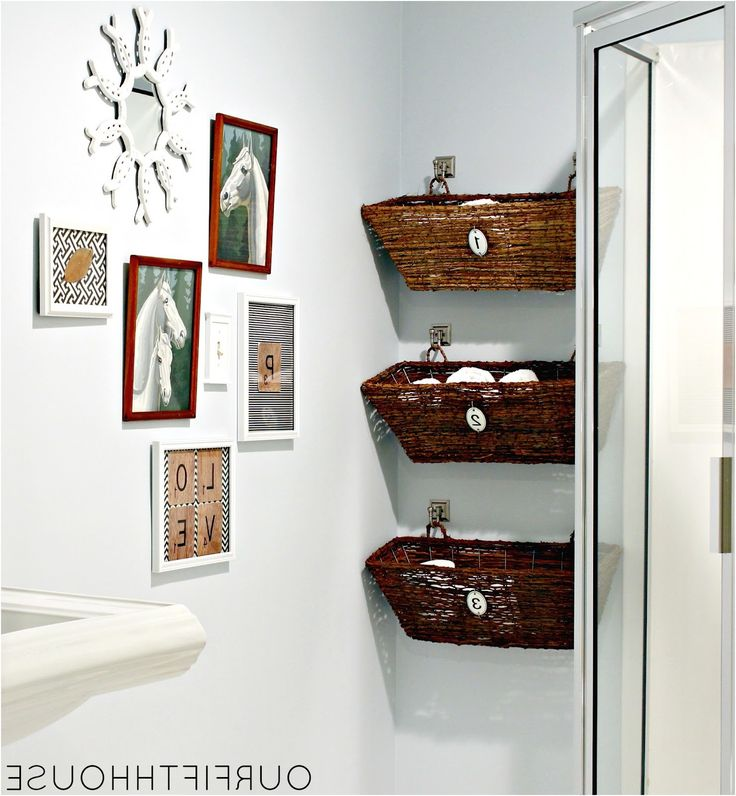 12 small bathroom storage ideas wall storage solutons and from Storage Bathroom Ideas
