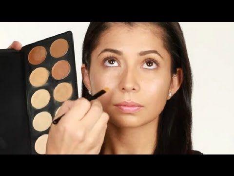 Manera de aplicar el corrector : Técnicas de maquillaje con Luis Casco
