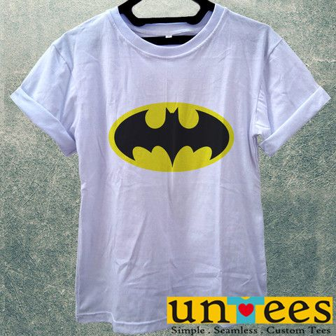 Low Price Women's Adult T-Shirt - Batman Logo design – untees