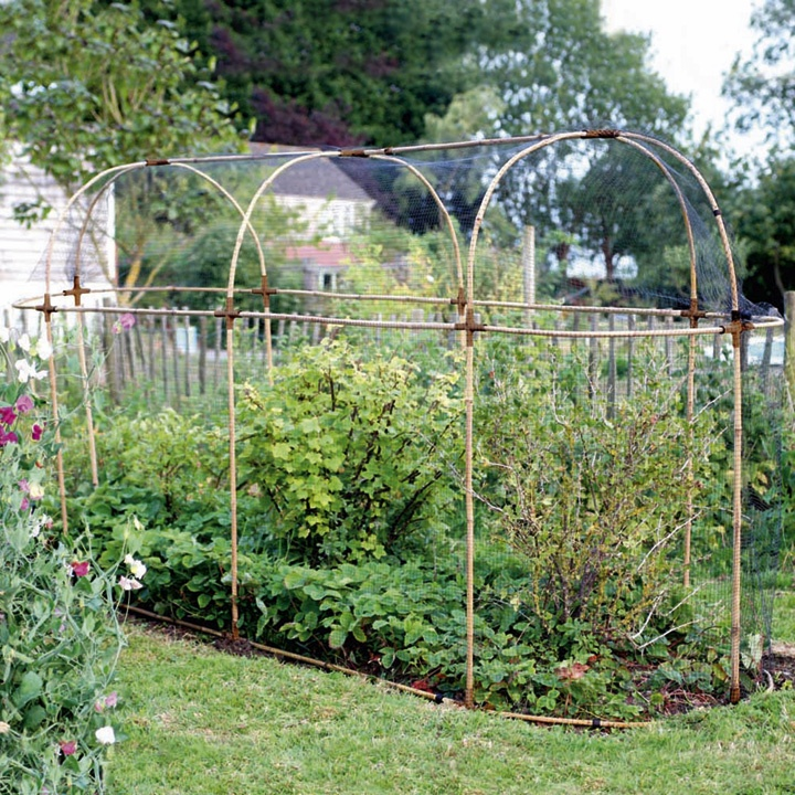 Natural Bamboo Fruit Cage