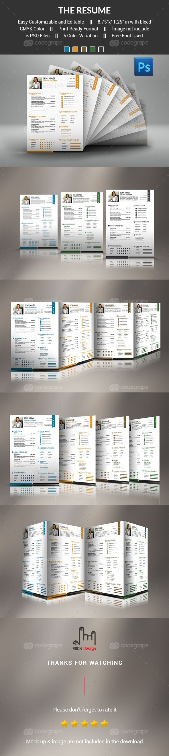 Resume Template The 19 best Stationery items