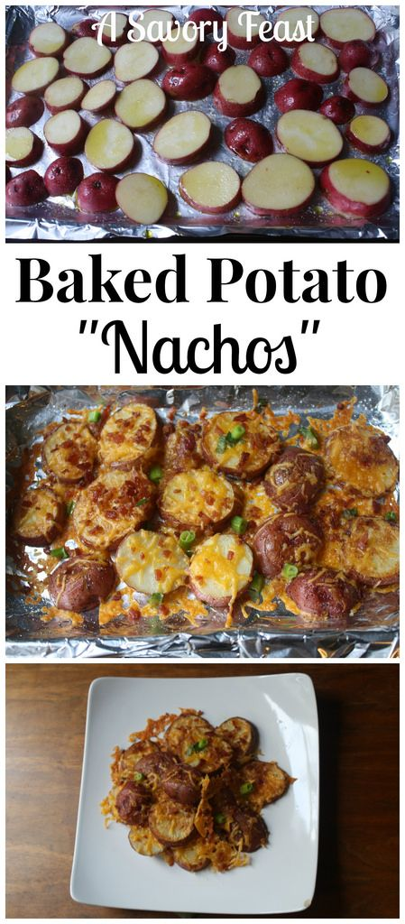 Baked Potato Nachos are great for your Super Bowl party or any get together. An easy appetizer recipe that is sure to be a hit!