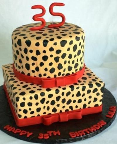Best Cheetah Birthday Cakes Ideas On Pinterest Leopard Print - 35th birthday cake ideas