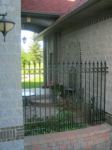 96 Best Images About Custom Wrought Iron Fence On