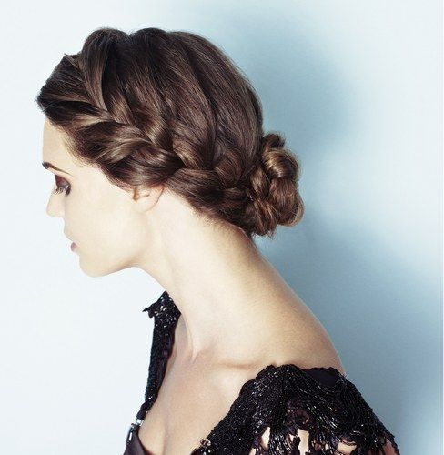 Ideas For Your Perfect Hair Up Do : Up do - hairstyles - plaits and braids for long hair