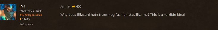 He is one hell of a fashionista #worldofwarcraft #blizzard #Hearthstone #wow #Warcraft #BlizzardCS #gaming