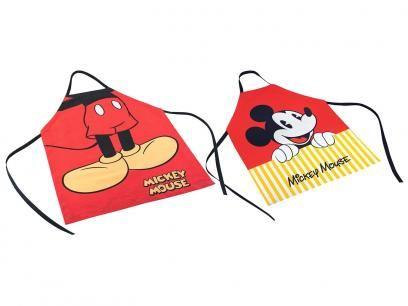 Conjunto de Aventais Disney Mickey Mouse e Minnie - Tam M 2 Peças - Lepper com as melhores condições você encontra no Magazine Raimundogarcia. Confira!