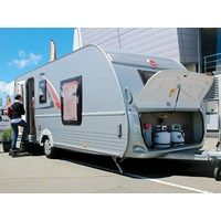 Made in Germany, the Burstner Averso 485TS reflects the preferences of caravanners in Europe.