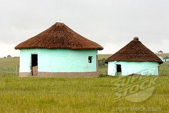 Stock Photo #1957-1555, Transkei,  Xhosa Huts