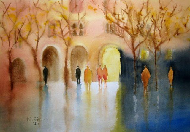 Peter Heimann: Victoria Prischedko style painting