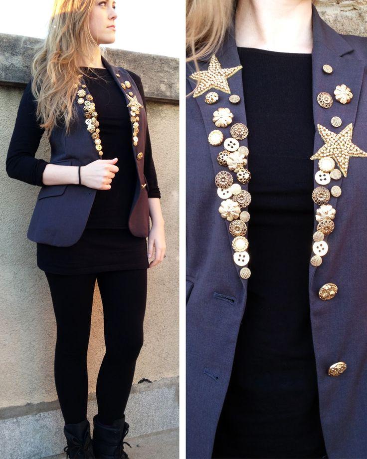 De chaqueta a chaleco   a n n a • e v e r s - DIY Fashion blog