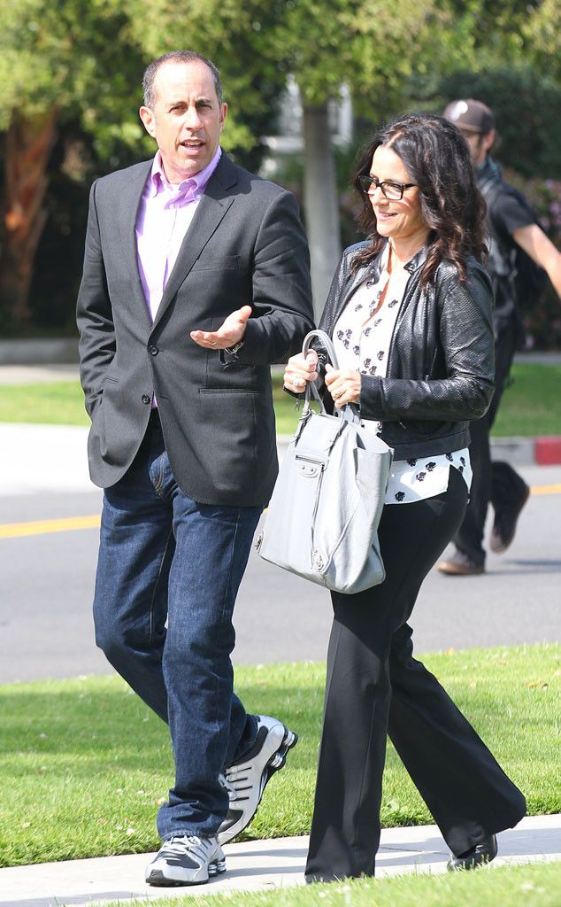 Watch Jerry Seinfeld and Julia Louis-Dreyfus Reunite on Comedians in Cars Getting Coffee!  Jerry Seinfeld, Julia Louis-Dreyfus