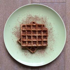 Recept: suikervrije, warme, knapperige wafels