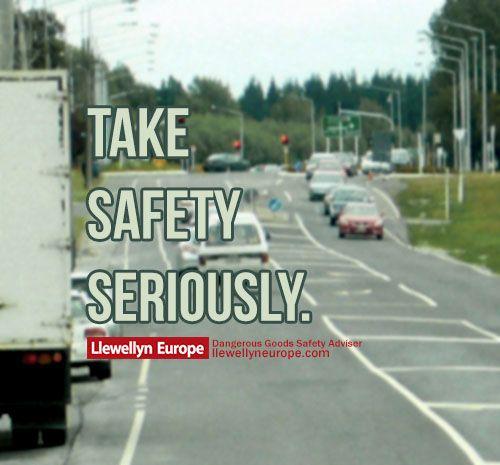 Take safely seriously.