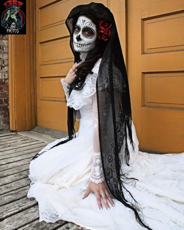 Hailey Belle Sugar Skull Dead Makeup